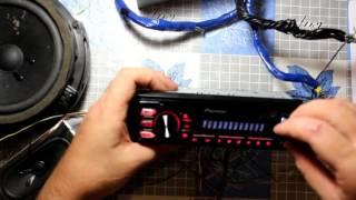 Подключение магнитолы Pioner дома от блока питания(Как подключить автомобильную магнитолу дома. Подключение магнитолы Pioner MVH-07UB дома., 2015-11-04T16:08:36.000Z)
