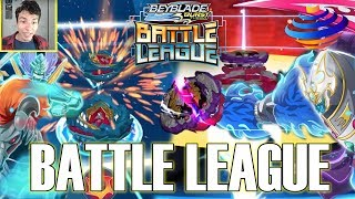 HADES H4 VS PHOENIX P4! BEYBLADE BURST TURBO BATTLE LEAGUE