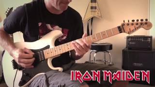 Iron Maiden - The Wicker Man Guitar Cover
