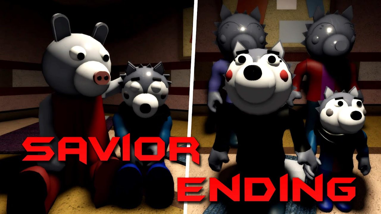 Piggy Savior Ending - Book 2 Chapter 6! (Roblox Piggy)