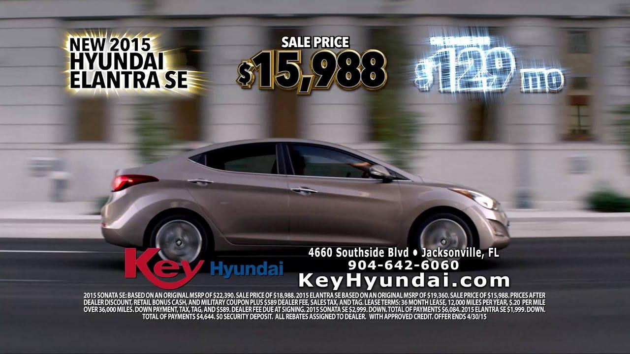 Wonderful Sonata And Elantra Special Offers | Key Hyundai, Jacksonville, FL | April  2015