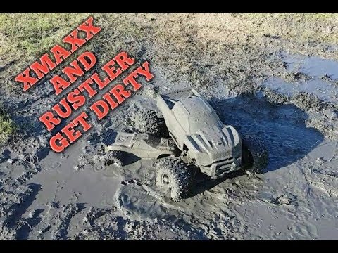 Traxxas Xmaxx And Rustler Get Dirty