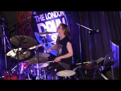 London Drum Show 2015 - Anika Nilles
