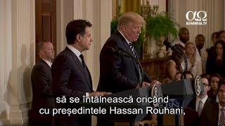 Trump se oferă să negocieze cu liderii Iranului