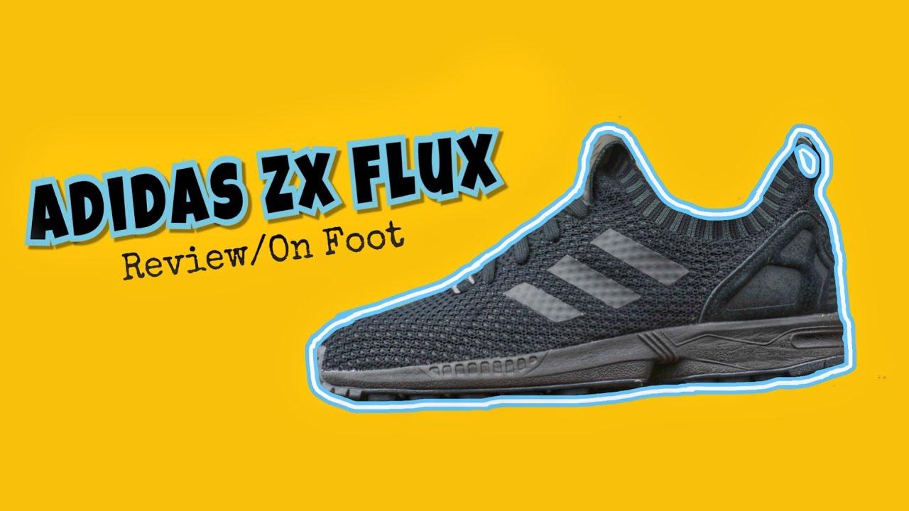 1057bbe006f25 Adidas ZX FLUX Primeknit Sneaker Review + On-Foot - YouTube