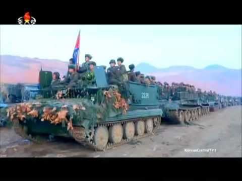 KCTV   North Korea Military Exercises Live Firing 480p