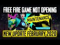 Free Fire Live February All New Update Game is Not Opening - Garena Free Fire 2020