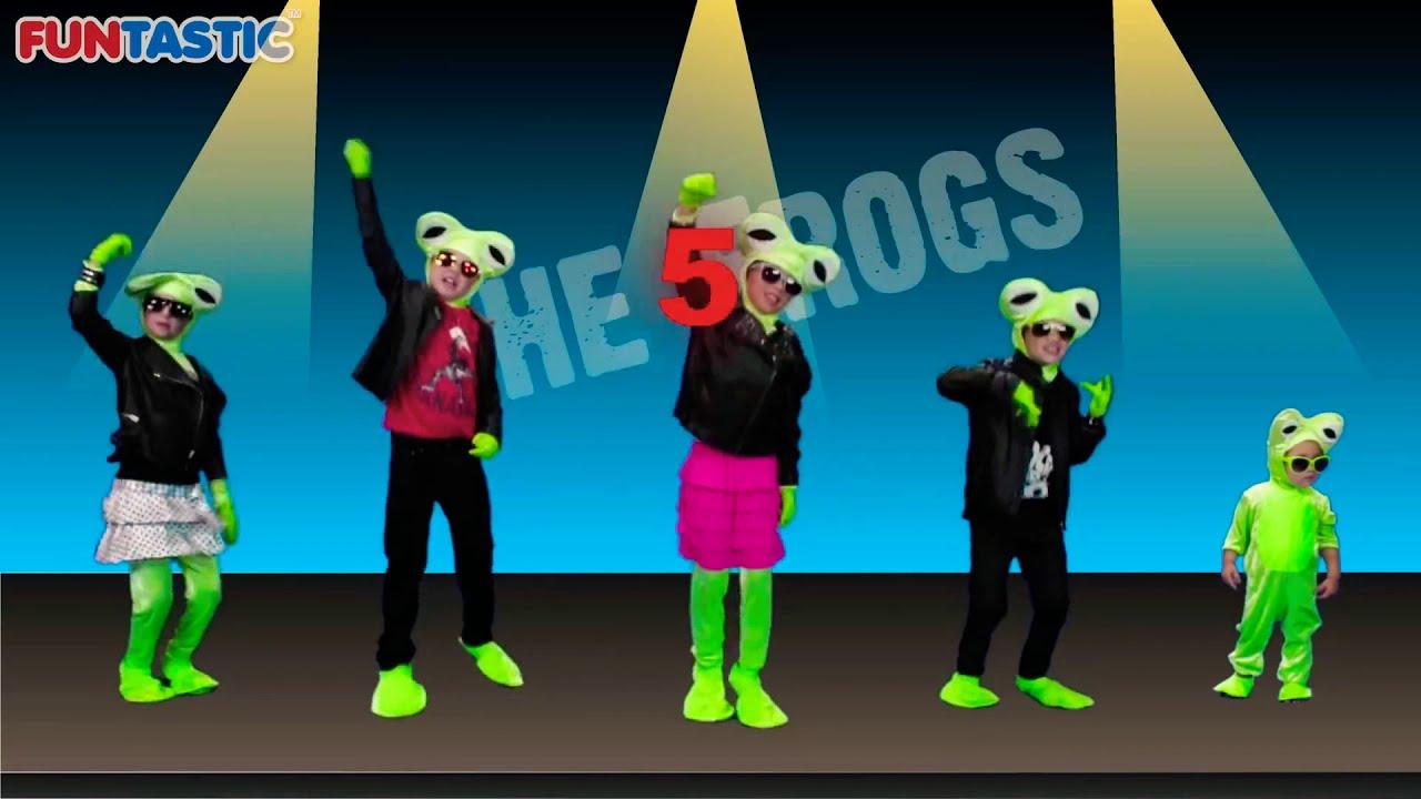 Five Little Rock Frogs