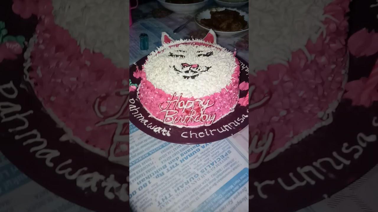 Download Kue Ulang Tahun Gambar Kucing Vina Gambar