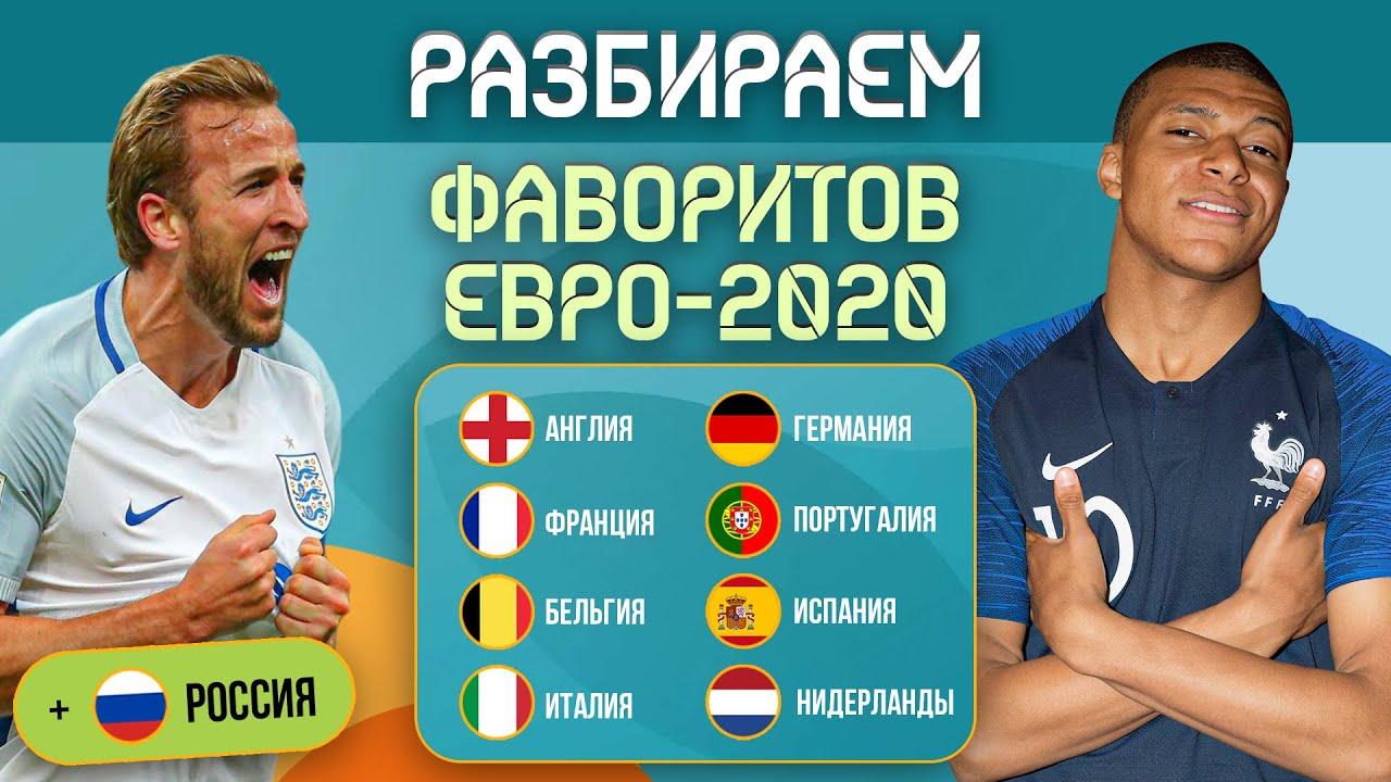 Разбираем всех фаворитов ЕВРО-2020 | МЯЧ Подкаст