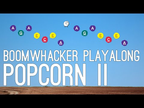 Popcorn II - Boomwhacker Playalong