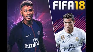Ronaldo vs Neymar FIFA 18 Real Madrid vs PSG