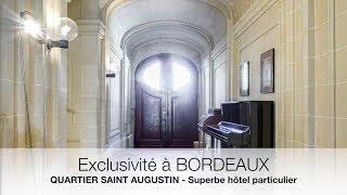 Magnifique hôtel particulier en vente au coeur de Bordeaux