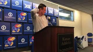 KU coach Bill Self previews Big 12 tournament