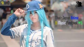 [4k UHD] Cosplay: Thai-Japan Anime & Music Festival #5 @ CentralWorld (Bangkok, Thailand) Mar 2015