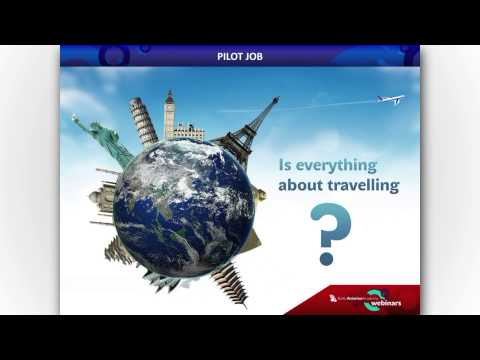 'Occupation: pilot. What exactly does it mean?' -- Baltic Aviation Academy's webinar