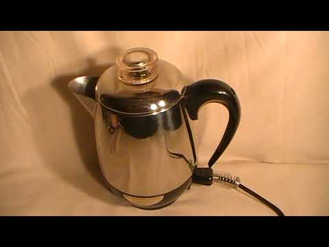 Farberware Superfast Fully Automatic Model 134 Percolator Coffee