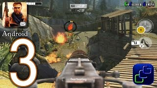 Brothers In Arms 3: Sons of War Android Walkthrough - Part 3 - Chapter 1: Raid