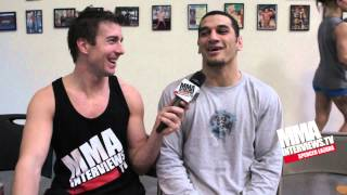 Brenson Hansen talks about WSOF debut & move to Vegas from Hawaii to pursue MMA career