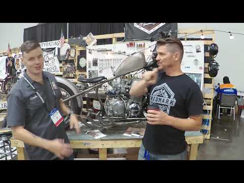 Cafe Racer Podcast AIM Expo 2017 Skidmark Garage