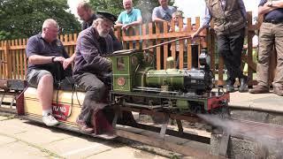 NGLEC 2021 - Narrow Gauge Locomotive Efficiency Competition - Live Steam - IMLEC