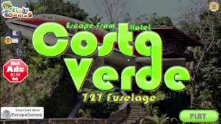 Escape From Hotel Costa Verde 727 Fuselage walkthrough.. .