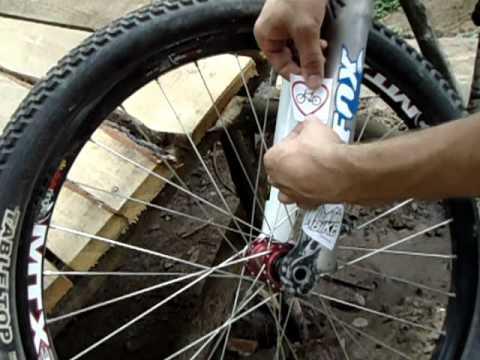 Наклейки на велосипед - YouTube