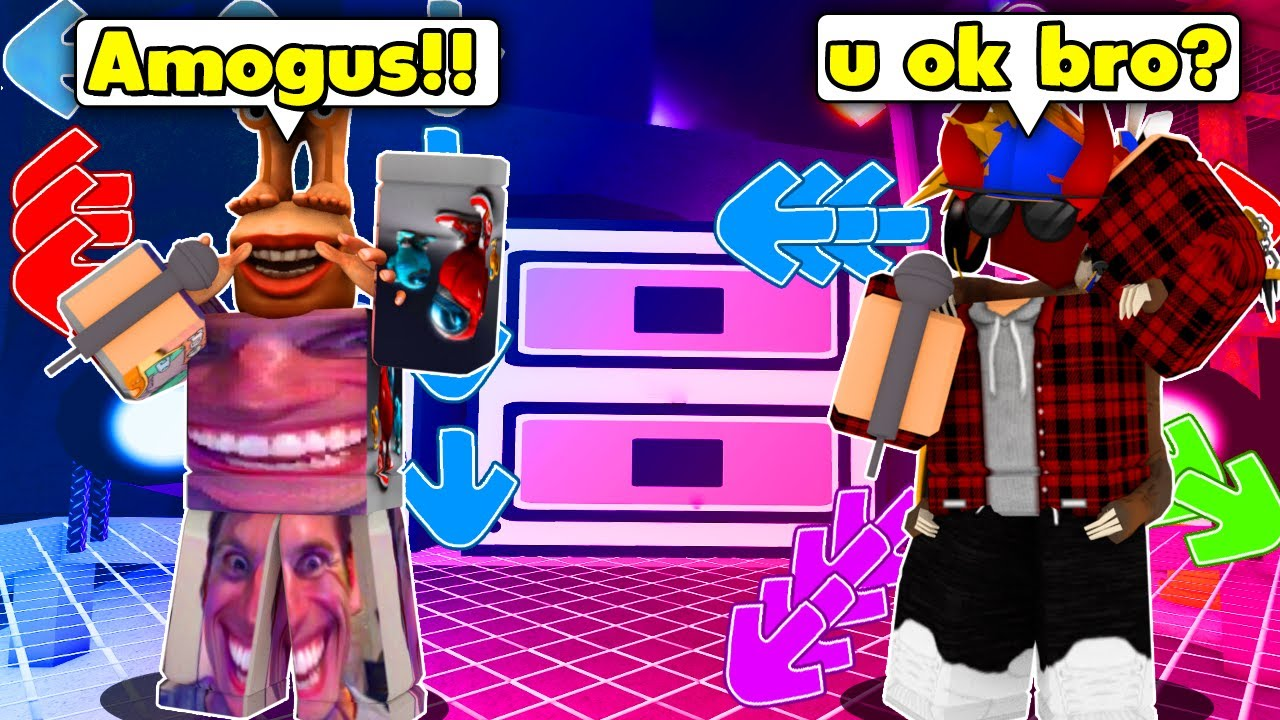 Among Us Player THOUGHT He Could BEAT Everyone And This Happened... (ROBLOX FUNKY FRIDAY)