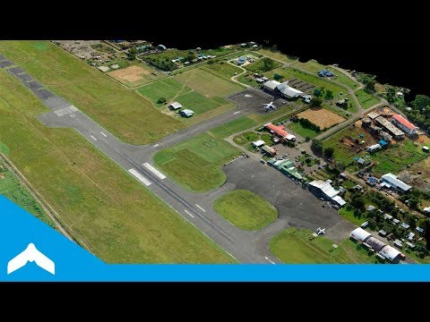 Topographic Drone Survey of an Island Airport