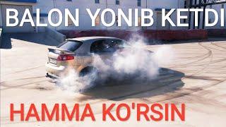 HAMMA KO'RSIN BALON YONIB KETDI TEST DRIVE BARS BALONI видео