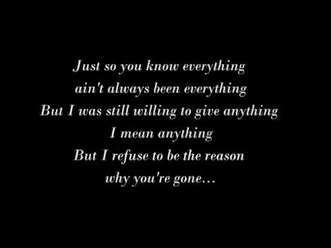 Boyz II Men - Refuse to Be the Reason (Lyrics)