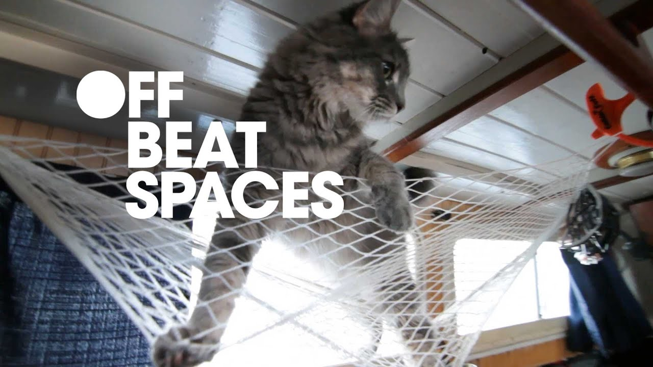 Cat On A Houseboat   Interior Design Video   YouTube