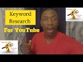 How To Do Keyword Research For Youtube - Video Ranking Tutorial 2017 by Rakeem Addison
