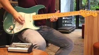 ร ว ว ร ว ว fender vintage 57 usa sherwood green fusionmusic