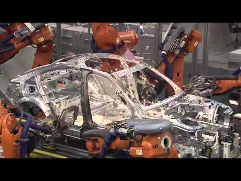 BMW 3 Series Body Assembly Line