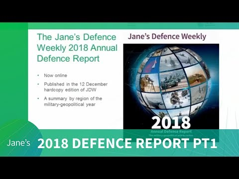 Intel Briefing - Jane's Annual Defence Review 2018: Middle East and Europe