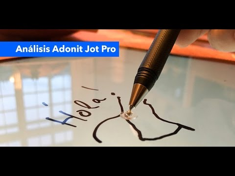 Análisis Adonit Jot Pro stylus para iOS o Android