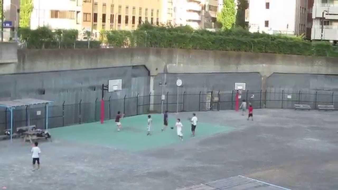 築地川公園 バスケットボール Ba...