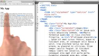 Intro to HTML and CSS - Using Semantic Tags