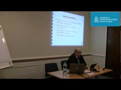London Seminar in Digital Text and Scholarship
