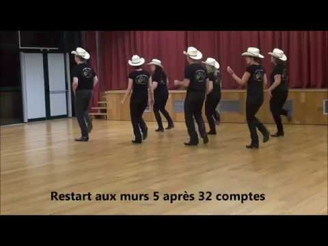 HIGHWAY DON'T CARE Line Dance (Démo & Teach in French)