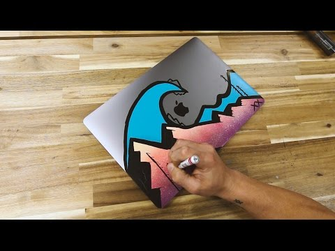 Painting A New Mac Book Pro