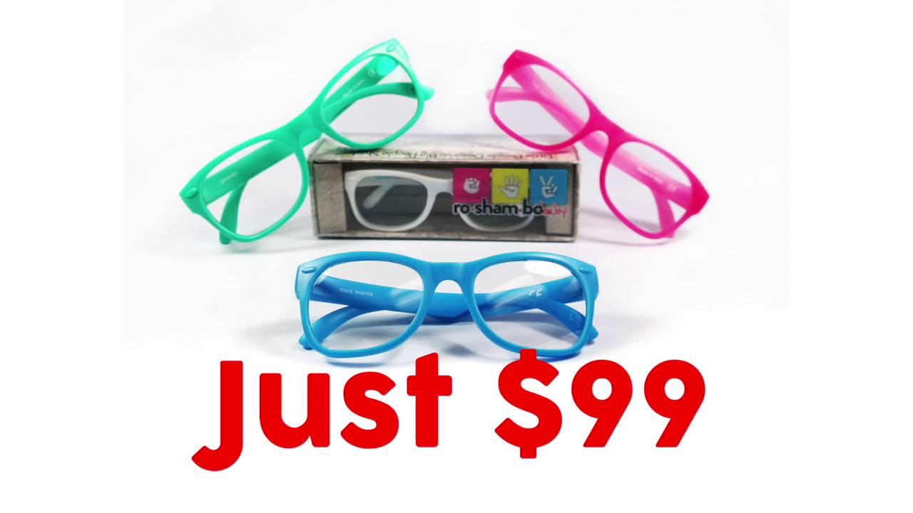 5f8bcadd94 Roshambo Baby Prescription Glasses - YouTube