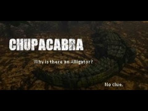 Chupacabra But It's A Really Terrible Game.