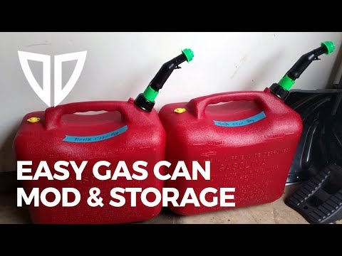 Got Gas? Store it!