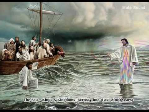 Image result for Yeshua Walking on water