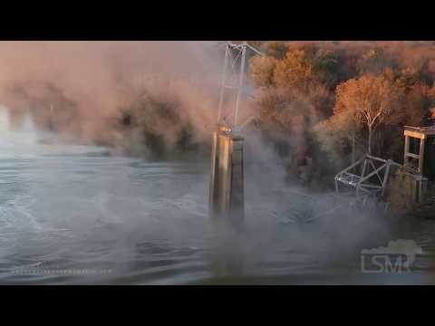 Walton And Johnson - Video - Awesome Footage of Giant Bridge Demolished In Arkansas