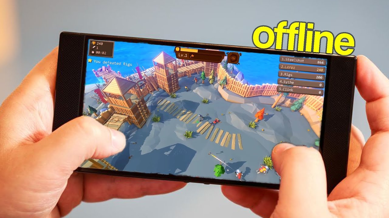 Top 10 Best Offline Io Games For Android And Ios 2019