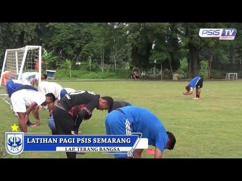 Latihan PSIS Semarang, Sabtu (13/1) pagi