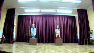 Открытый урок по Актёрскому мастерству шк.им В.Полякова Кишинёв